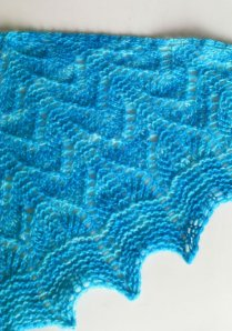 Dazzling Blue Scarf From LittleStickCreations