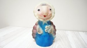 Dazzling BlueTurtle Soviet Kid Toy From LivePastVintage