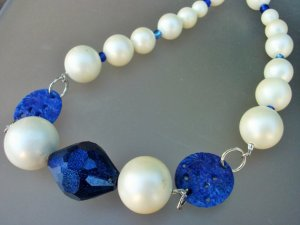 Dazzling Blue Necklace From mscenna