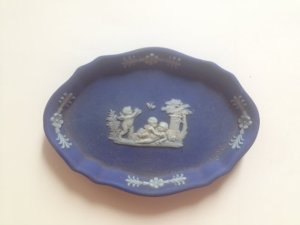 Wedgwood  Small Oval Trinket Tray From KarenLovesAntiques